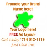 Sample of an Ad (630 x 150) Advertisement samples: 200 x 200 or 200 x 100