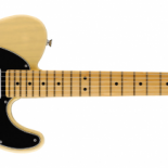 "Fender is proud to introduce a new guitar and bass that commemorate six decades of the company's original pair of groundbreaking instruments—the Telecaster and Precision Bass guitars. The new 60th Anniversary Telecaster and 60th Anniversary Precision Bass, both of which feature a new ""Blackguard Blonde""..."