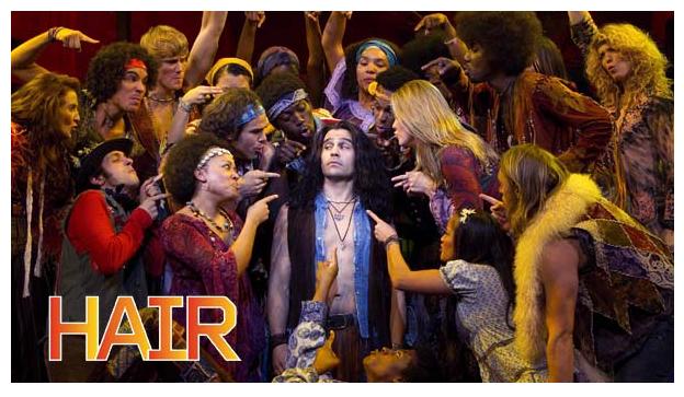 Cast of HAIR musical 2011