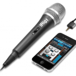 The first handheld microphone for iPhone. Quality vocal and audio recordings anywhere for iPhone, iPod touch and iPad. January 2011, Modena, Italy – IK Multimedia is proud to announce iRig™ Mic: the first handheld quality condenser microphone for iPhone®, iPod touch® and iPad® – designed...
