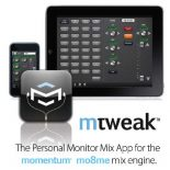 mtweak, Pro Co's iPhone/iPod Touch App to complement the mo8me personal monitor mixer, a component of their Momentum™ Digital Audio Distribution Network is now upgraded for use with the Apple […]