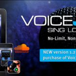 VoiceJam 1.2 allows vocalists to loop, layer and create original songs whenever and wherever they want – and now allows In-App purchase of HardTune, the infamous pitch correction effect. In-App purchase of VoiceTone C1 is available for the limited launch price of $3.99 US, £2.39...