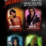 Enter to Win BOSS Pedals Autographed by Top Guitar Stars Los Angeles, CA, November 21, 2011 — BOSS has gone berserk again with another round of The Big BOSS Giveaway. The biweekly contest gives tone freaks everywhere a chance to win BOSS pedals autographed by top...