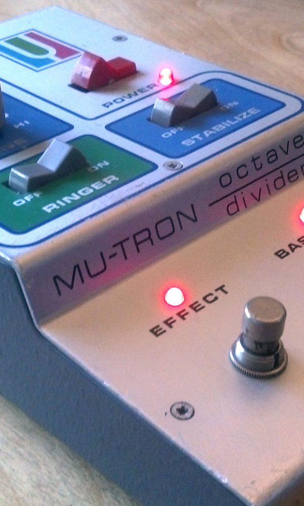 Mu-Tron Octave Divider on mikesgig.com