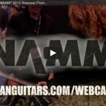Dean Guitars Free Live Broadcast Dean Guitars is THE ONLY guitar brand bringing the worldwide guitar community together with an all-access pass to The NAMM Show – including a multi-camera, realtime broadcast extravaganza loaded with rockstar interviews, guitar demos and giveaways, the lovely Dean girls...