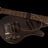 Engineer Gerry Dale and producer Robin Millar reinvent the pro travel guitar; featuring two dual-rail humbuckers, solid maple neck & patented Evertune bridge, it unfolds in tune!