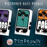 Building on the breakout success of its line of futuristic analog pedals, Pigtronix is proud to announce the launch of three new pedals, specifically designed for bass players. While much […]