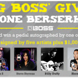 Roland is giving away a lot of free stuff. Enter to Win BOSS Pedals Autographed by Steve Vai, John 5, and More. BOSS has gone berserk again with another round […]