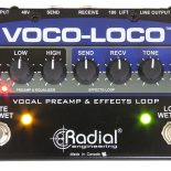 Any stage performer with a mic can now create and control their personal mic-based effects chain. Radial Engineering Ltd is pleased to announce the Voco-Loco, a combination microphone preamp and […]