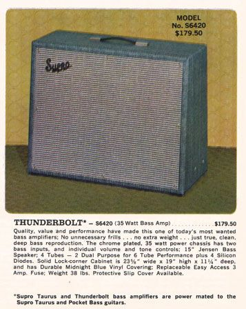 60s Thunderbolt Ad