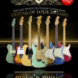 "Make'n Music announces the ""Guitar of your Dreams"" giveaway – A chance to win one Fender Custom Shop guitar designed by…YOU! CHICAGO, IL September, 22nd 2014- Make'n Music, a musical […]"