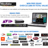 Final Week of Westlake Pro's 30 Days of Giveaways Los Angeles, CA (September 23, 2014) – Westlake Pro, a leading retailer of professional audio, recording gear, live sound equipment, and […]