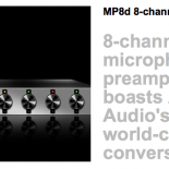MP8d Follows Successes of Zen Studio and MP32 mic preamp, Firmly Establishing Exceptional Quality of Antelope Audio's Mic Pre Design Capabilities MP8d is an eight-channel class-A microphone preamplifier, which boasts […]
