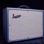 This compact, all-tube powerhouse is physically the smallest amp in the current Supro lineup, cranking out 25 watts of pure vintage American Class-A tone through a single 10″ speaker. The […]