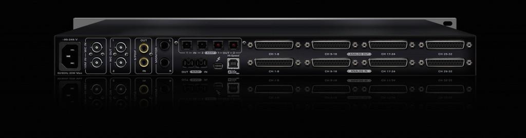 Antelope Audio Orion32+ interface (rear panel)