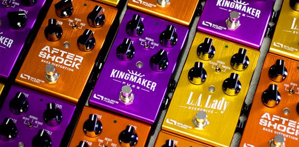 It's official, Source Audio's the Fuzz, the Drive & the Distortion are in stores. We started shipping the L.A. Lady Overdrive, Kingmaker Fuzz, and AfterShock Bass Distortion last week. These […]