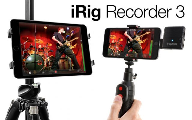 Now with pro audio effects, video recording and much more IK Multimedia is proud to announce the release of iRig Recorder 3, the new version of the popular audio recording app […]