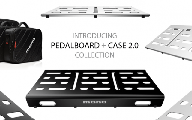 The new Mono M80 Series Pedalboards are sleek, sturdy and road-ready. Cut and formed from a single piece of anodized aluminum these pedalboards come in four sizes and feature a […]