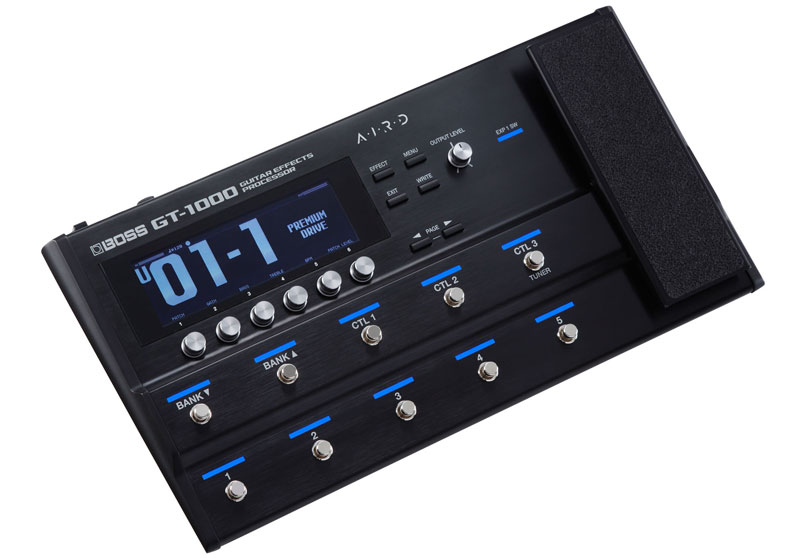 BOSS Announces GT-1000 Guitar Effects Processor at NAMM 2018