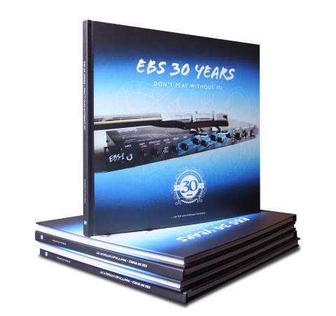 EBS To Celebrate 30 Years in Business at NAMM 2018