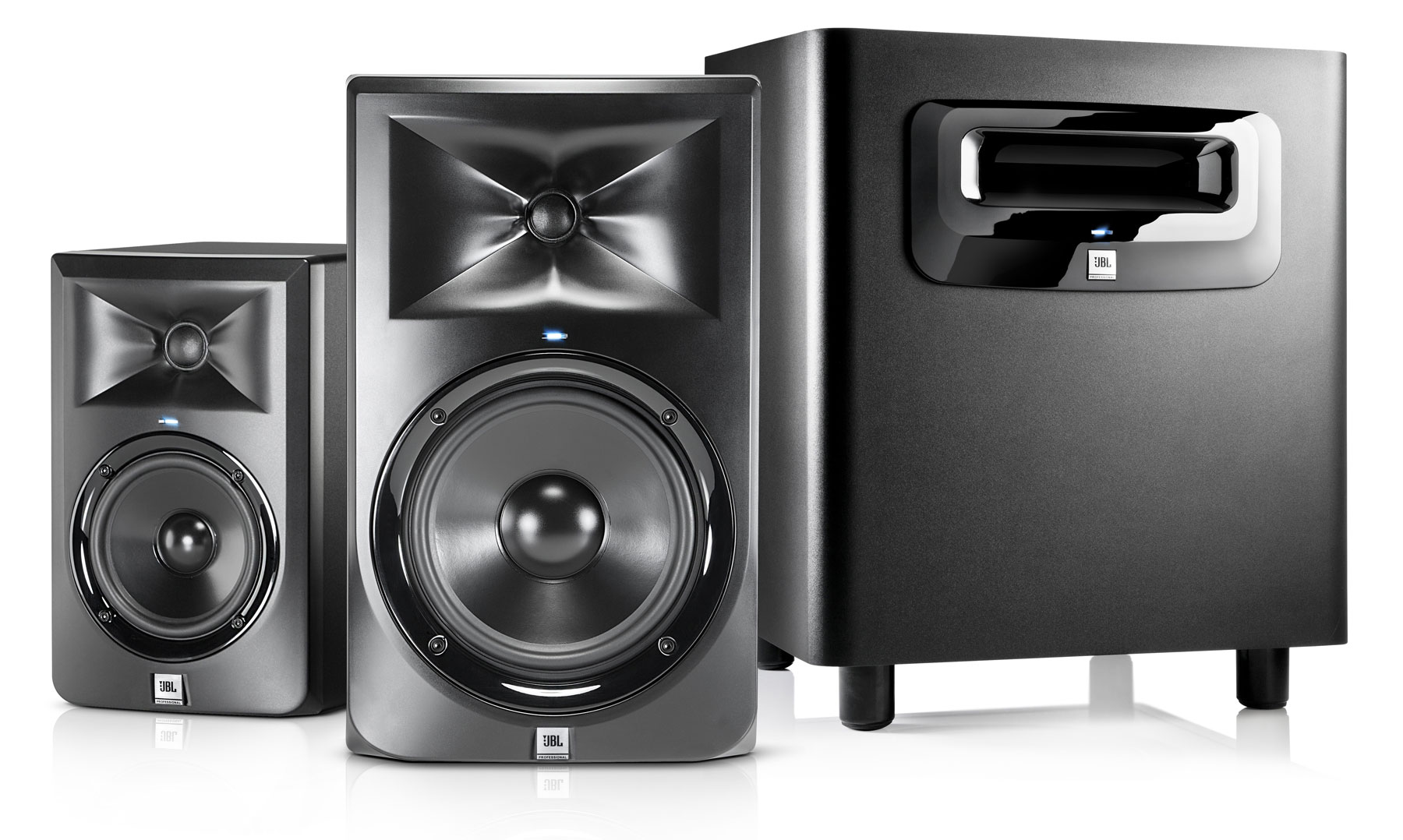 HARMAN Professional Solutions Unveils JBL 3 Series MkII Powered Studio Monitors
