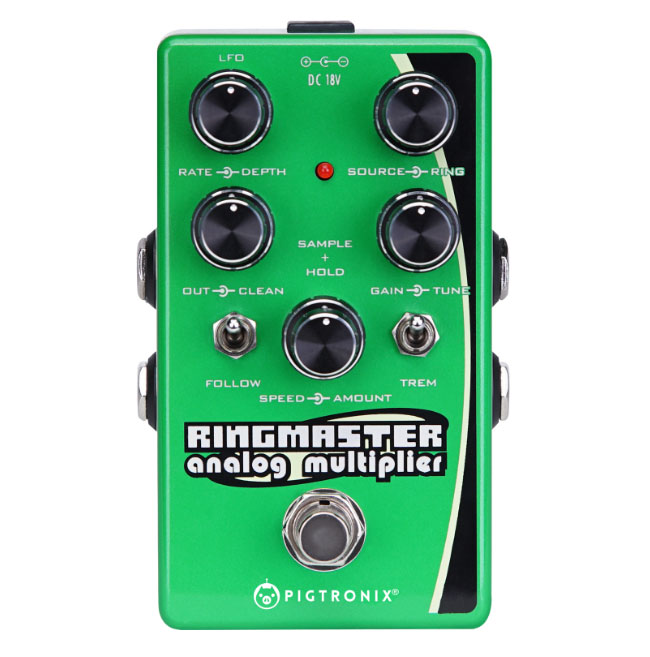 Pigtronix Introduces Ringmaster Ring Modulator Synth Pedal At NAMM 2018