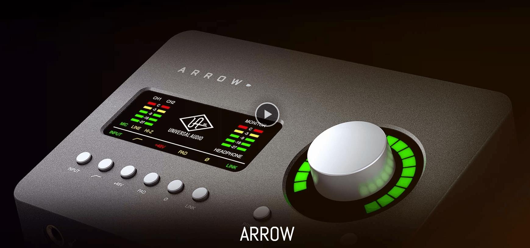 Universal Audio Ships Arrow Desktop Audio Interface For Music Creators