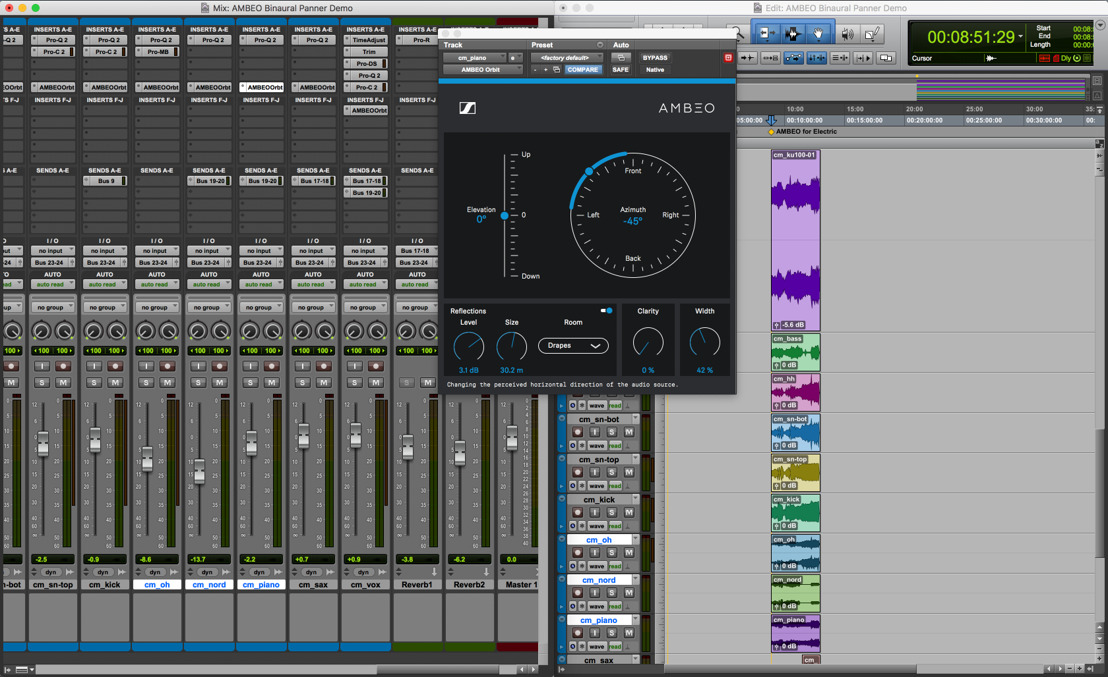 "AMBEO at NAMM 2018 – Workshops and free plug-in ""AMBEO Binaural Panner"""