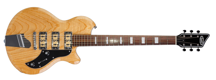 Supro to launch Island Series Baritone Guitar line at NAMM