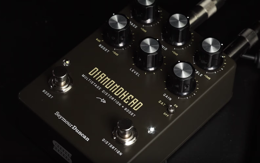Seymour Duncan Diamondhead Multistage Distortion + Boost pedal