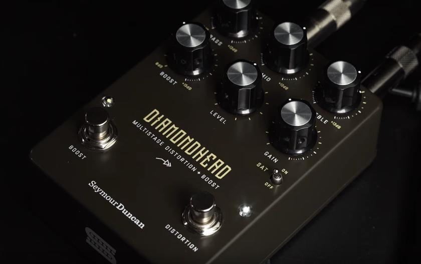 Seymour Duncan Diamondhead Multistage Distortion + Boost pedal